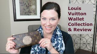 Louis Vuitton Wallet Collection and mini review!