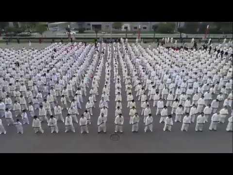 V Congreso Internacional: Qigong de bastón con 1300 personas