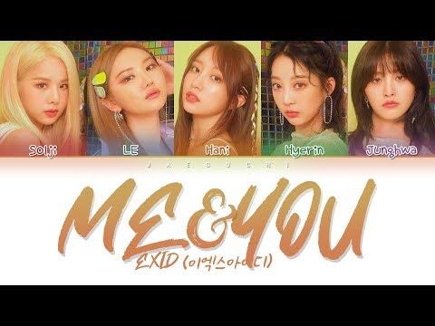 EXID (이엑스아이디) - ME&YOU (Color Coded Lyrics Eng/Rom/Han/가사)