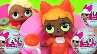Видео для Детей. COLOR CHANGING DOLLS! Сюрприз Игрушки. #LOL BABY DOLLS #ИгрушкиМеняющиеЦвет