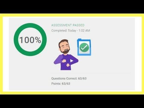 Google Shopping Certification Advertising Assessment Exam ...