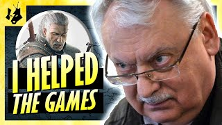 "ANDRZEJ SAPKOWSKI on ""the Witcher"" games and more! [2016]"