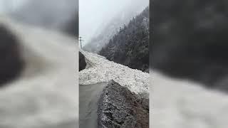 В результате схода лавины в Дагестане нарушено сообщение с 51 населенным пунктом