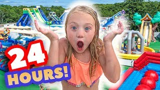 Video WE TURNED OUR BACKYARD INTO A REAL WATERPARK FOR 24 HOURS MP3, 3GP, MP4, WEBM, AVI, FLV September 2019