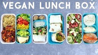 3 VEGAN & HEALTHY LUNCH BOX IDEAS (BENTO) ♡