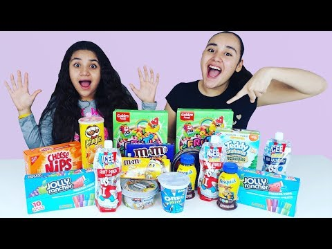 N0 elijas el Snack INCORRECTO slime challenge. Don't Choose the Wrong Snack slime challenge
