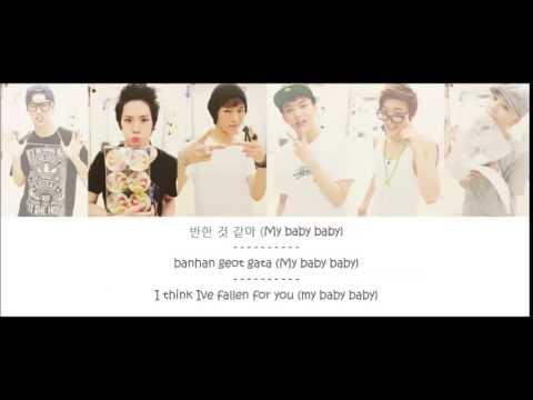 B.A.P (비에이피) - B.A.B.Y lyrics (Color coded)
