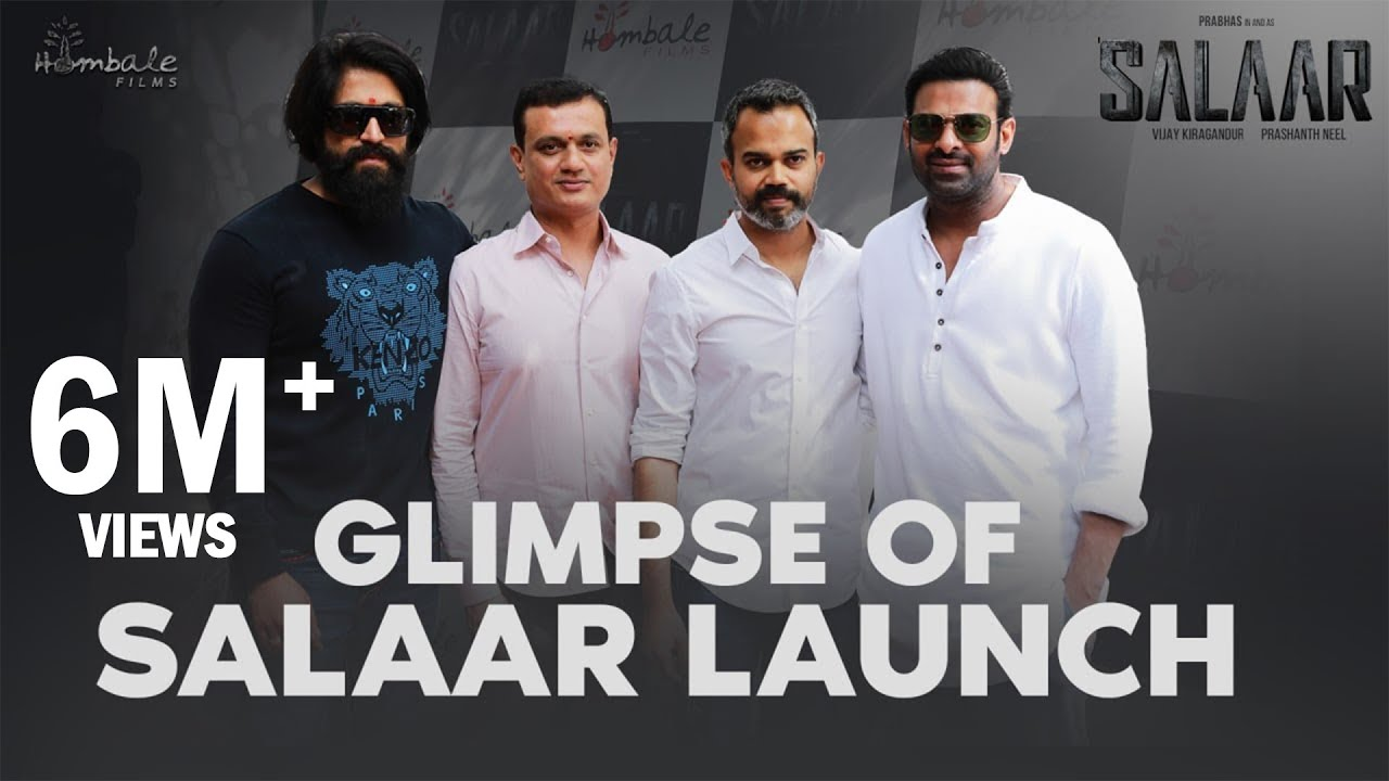 Glimpse Of Salaar Launch