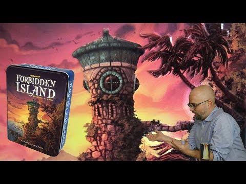 Forbidden Island (Tiltott Sziget)   Part 1   Elsüllyed alattunk a sziget - Fun With Geeks