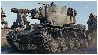KV-2 (R) • Welcome Back T-50-2 • WoT Gameplay