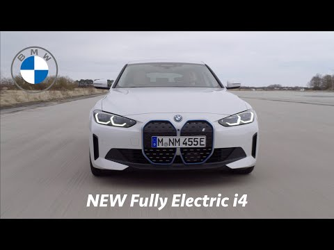 BMW i4 2022 - FIRST Look | Exterior, Driving, Power, Battery Range, Launch 0 - 100 km/h in 4 sec