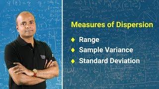 Measures of Dispersion   Range, Sample Variance and Standard Deviation   Statistics Tutorial 2018