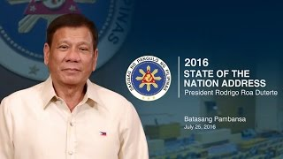 2016 State of the Nation Address