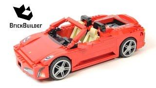 Lego Racers 8671 Ferrari 430 Spider - Lego Speed Build