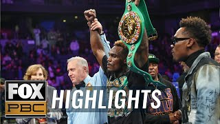Charlo vs. Harrison II: Charlo avenges loss, now 2-time champ | FULL FIGHT HIGHLIGHTS | PBC ON FOX