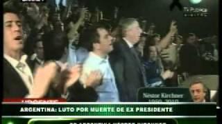 Luto Por Muerte Del Ex Presidente De Argentina Néstor Kirchner