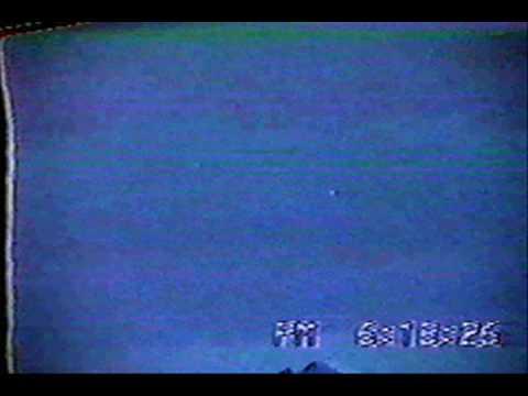 Alien Ufo Ovni Orbs Caught on Tape Las Vegas Nevada USA 1990 Footage