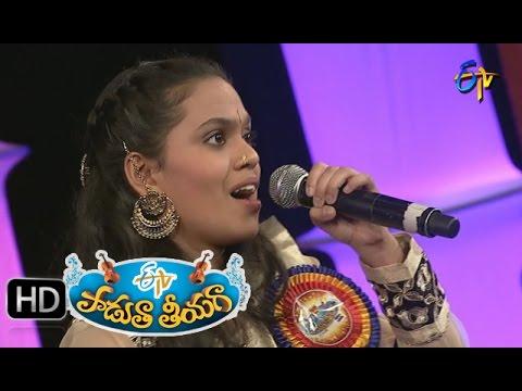 Jallantha-Kavvintha-Song--Snigdha-Performance-in-ETV-Padutha-Theeyaga--4th-April-2016