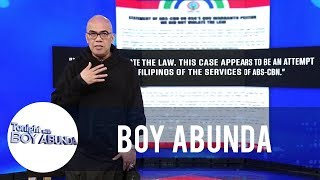 Tito Boy shares his opinion about the current state of the ABS-CBN franchise renewal | TWBA