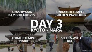 ARASHIYAMA BAMBOO + KINKAKUJI TEMPLE, KYOTO - TODAIJI TEMPLE, NARA | JAPAN HOLIDAY 2015 FULL HD
