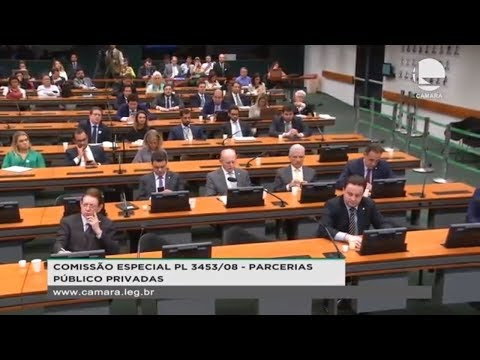 Comissão Especial PL 3453/08 - Parcerias Público Privadas -  - 21/08/2019 - 15:26