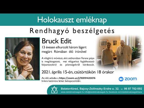 Kedves Barátaink! Többen kérték, hogy tegyük elérhetővé Bruck Edit írónővel készített beszélgetés …