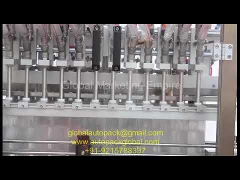 Automatic 12 Head Oil Filling Machine/Automatic Cream,Gel,Liquid,Paste,Lotion Filling Machine