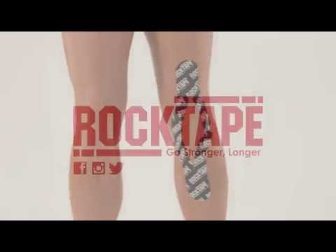 RockTape - Тейпирование задней поверхности коленного сустава