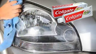 Download Youtube: Clean Headlight Haze With Toothpaste