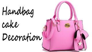 माइकल कोर्स पर्स केक सजा | How To Make A Michael Kors Purse Cake (Handbag) Decoration