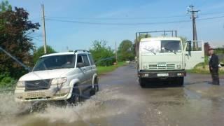 Наводнение. Краснокумское. 27.05.2017. ул. Красная.