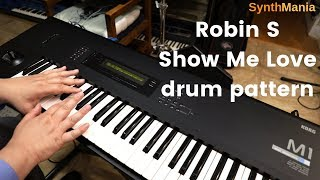 """How to emulate Robin S """"Show Me Love"""" drum pattern"""