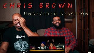 Chris Brown   Undecided (Official Video) Reaction