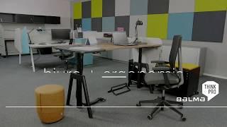 System Balma PLUS - biurko z elektryczną regulacją wysokości