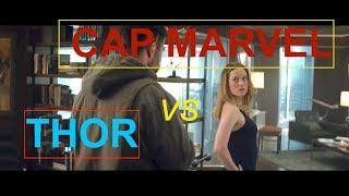 Thor meets Captain Marvel