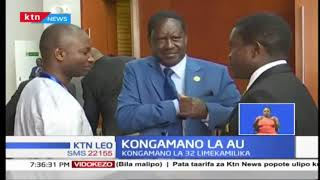 Rais Uhuru Kenyatta arejea nchini kutoka Kongamano la 32 la umoja wa Africa