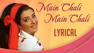 Main Chali Main Chali With Lyrics | Padosan | Lata   - YouTube