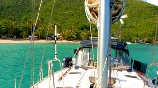 Backyard Scenes - Cane Garden Bay, Tortola, British Virgin Islands, Caribbean