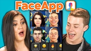 Teens vs. FaceApp (React)