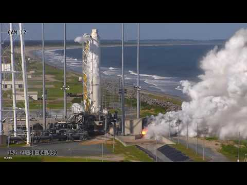 Antares Rocket Passes First Test Since Exploding Two Years Ago