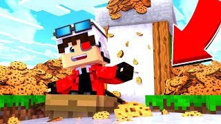 САМАЯ ДЛИННАЯ БАШНЯ ИЗ ПЕЧЕНЕК И МОЛОКА В МАЙНКРАФТЕ! БИТВА ПЕЧЕННЫХ БАШЕН! Minecraft