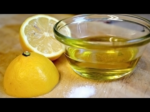 Video Mix Lemon Juice and Olive Oil for Amazing Benefits | Natural Cures