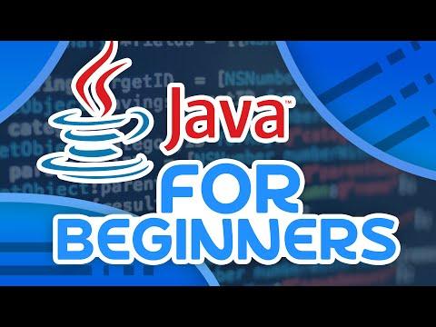 Java Tutorial - For Beginners