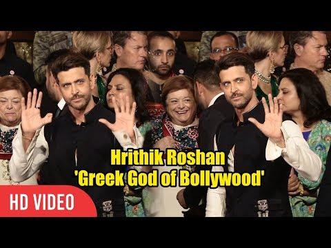 Hrithik Roshan in Super 30 look arrives at @Mukesh Ambani's Daughter Isha Ambani WEDDING