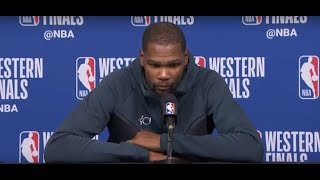 Kevin Durant Postgame Interview   Warriors vs Rockets Game 1 - Video Youtube