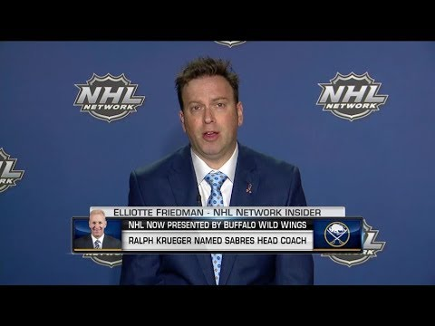 NHL Now: Elliotte Friedman: How did the Sabres come about to hire, Ralph Krueger May 15, 2019