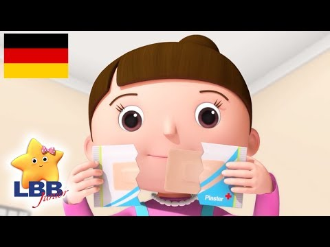 Kinderlieder | Unfälle Passieren Lied | Little Baby Bum Junior Deutsch