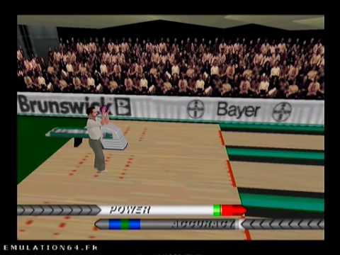 brunswick circuit pro bowling nintendo 64
