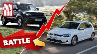 [AUTO BILD] VW e-Golf vs. Kia Soul EV
