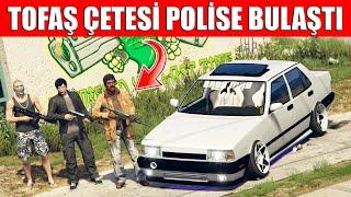 TOFAŞ İLE POLİSTEN KAÇIYORUZ !! GTA 5